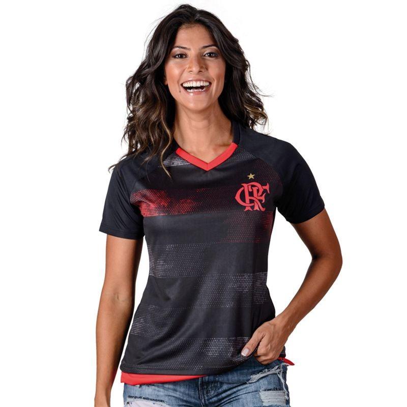 camisa feminina flamengo rally braziline. Carregando zoom. eb18e6691d101