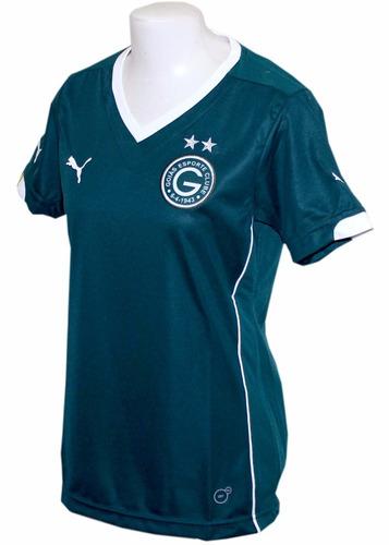 camisa feminina goiás 2014 puma verde