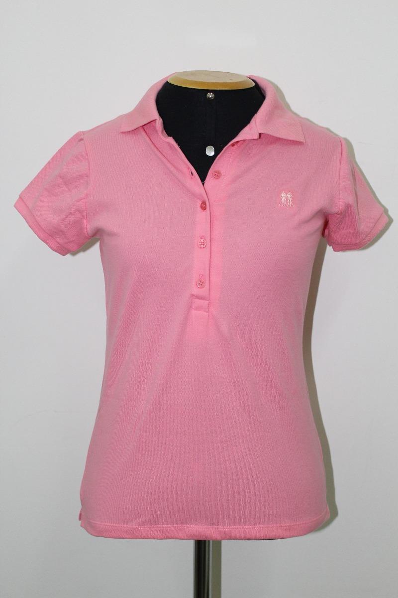 0fd7fd140049b camisa feminina gola polo rosa polo wear original p000047730. Carregando  zoom.