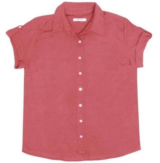 d1d1c011b4 Camisa Feminina Hering Em Tecido De Viscose ( Kkvu )rrm - R  99