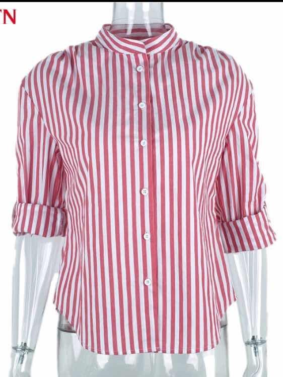 6f740d595 Camisa Feminina Listrada 2 Em 1 Ciganinha Ombro A Ombro - R$ 59,00 ...