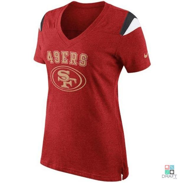847fc35b4e Camisa Feminina Nfl Nike San Francisco 49ers Draft Store - R  159