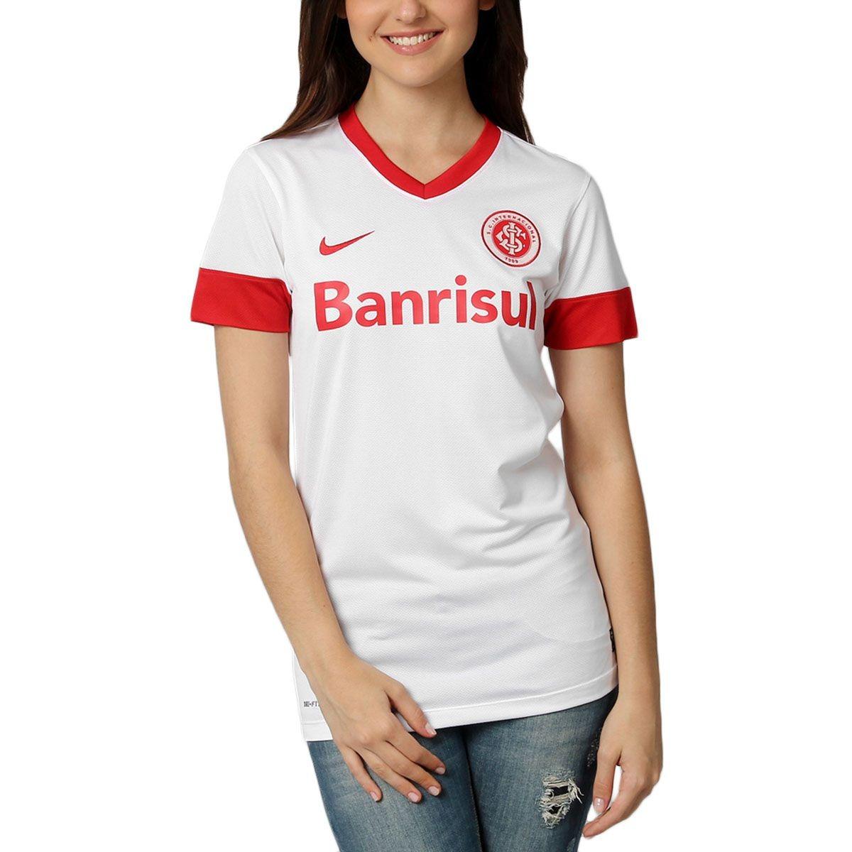 Camisa Feminina Nike Internacional Original+ Nf De199 cd0032f0023e6