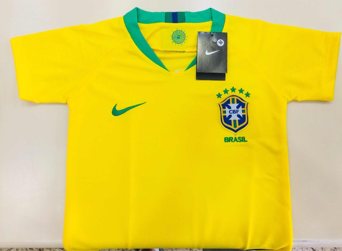 65085bb96 Camisa Feminina Nike Seleção Brasileira Copa 2018 - R  129