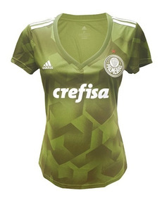 71e680464e Camisa Palmeiras 2018 Femininas - Futebol com Ofertas Incríveis no Mercado  Livre Brasil