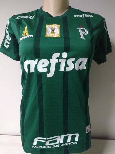 camisa feminina palmeiras verde 2016