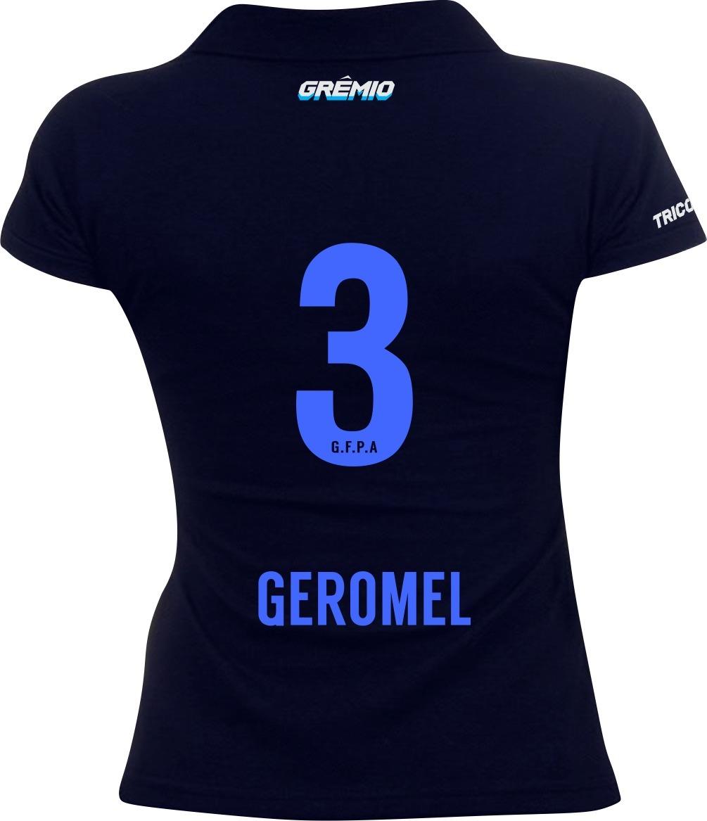 camisa feminina personalizada gremio nome e numero. Carregando zoom. 52d1caa91fb56