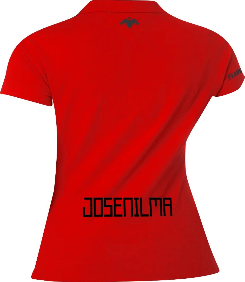 camisa feminina personalizada torcedora flamengo vermelho. Carregando zoom. c8973bda19c0b