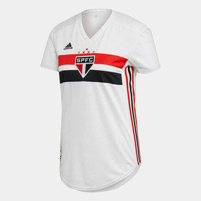 5bf1238c2d Camisas Feminina Sao Paulo Oficial - 2019 - Frete Gratis !