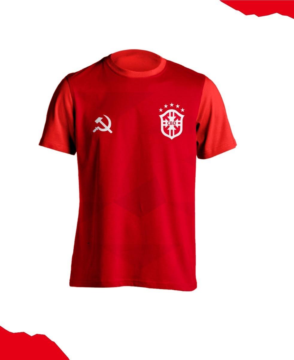 camisa vermelha comunistas feminina seleção brasileira. Carregando zoom... camisa  feminina seleção. Carregando zoom. 6a0cb8b624110