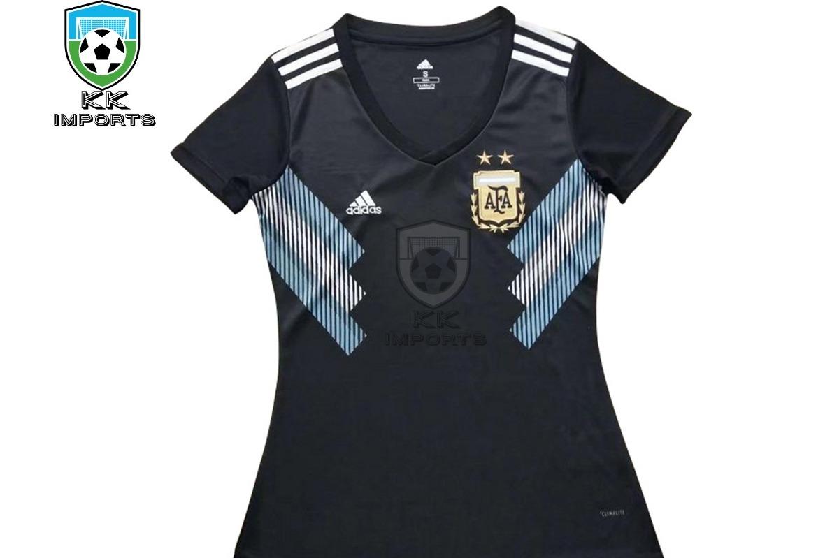 95c0ff8f52d53 camisa feminina seleção argentina 2018 unif 2 sob encomenda. Carregando zoom .