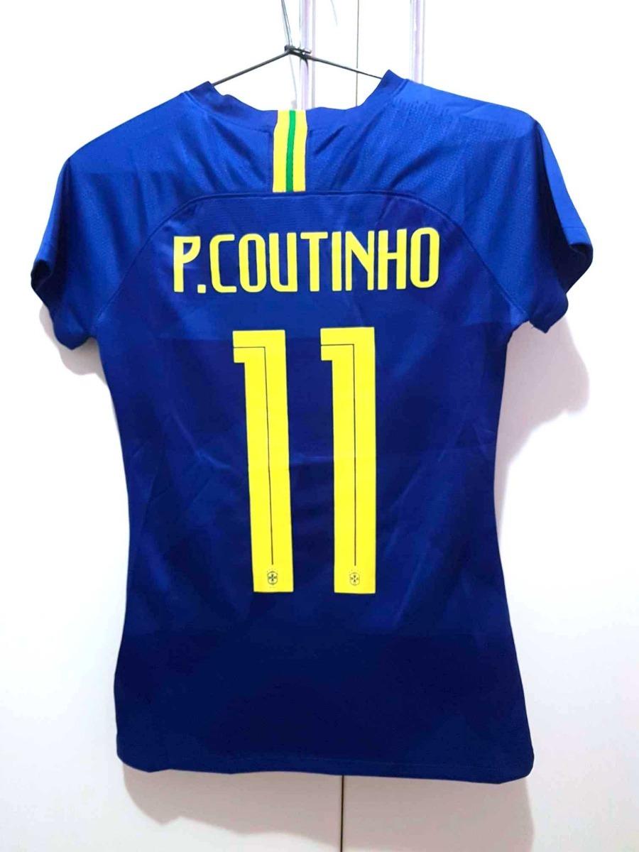03d2af4507b62a camisa feminina seleção brasil copa 2018 personalize grátis. Carregando  zoom.