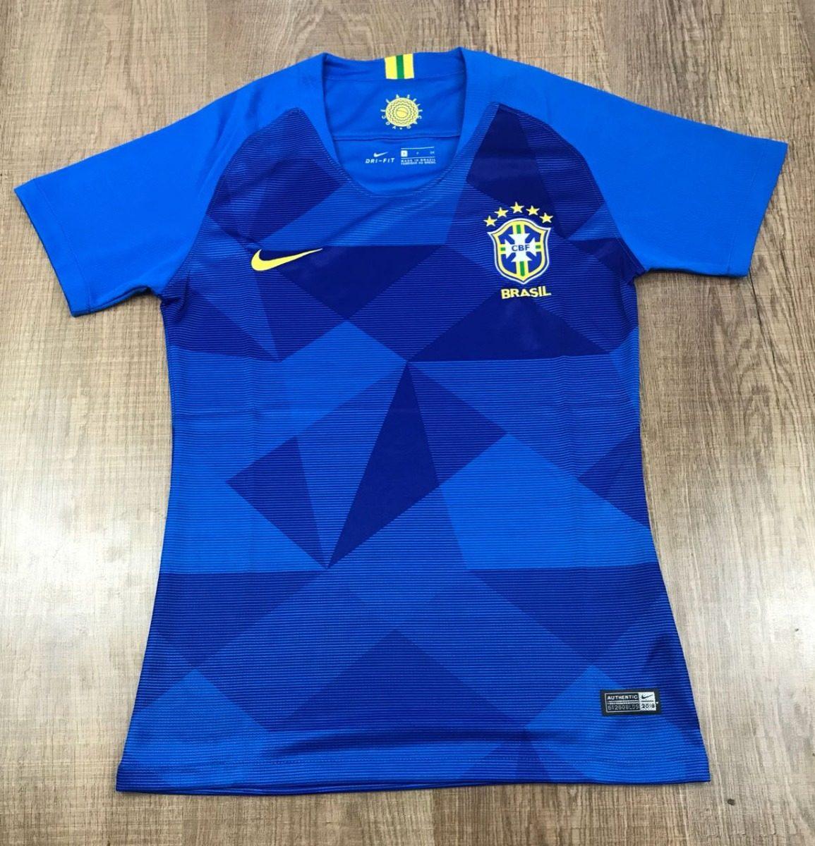 ... camisa feminina seleção brasileira de futebol 2018 promoção. Carregando  zoom. bf8eb5befff6a4 ... 3211351e90eae