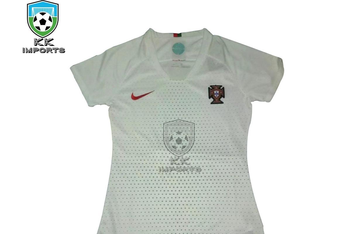 camisa feminina seleção portugal 2018 unif 2 sob encomenda. Carregando zoom. 027b1dd0d7db3