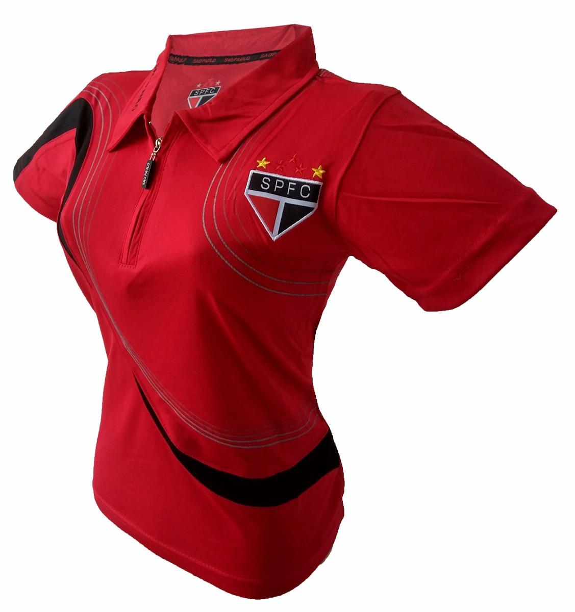 afefcc733aa70 camisa feminina são paulo oficial gola polo - promoção. Carregando zoom.