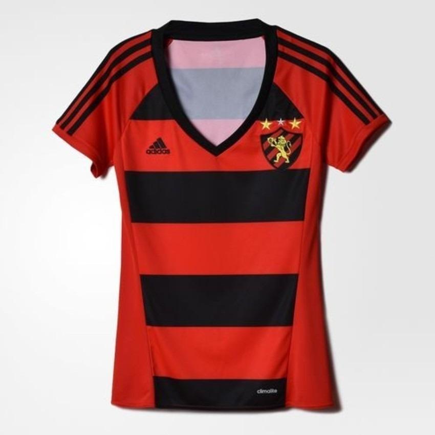 4574a9de2 camisa feminina sport recife uniforme 1 original - footlet. Carregando zoom.