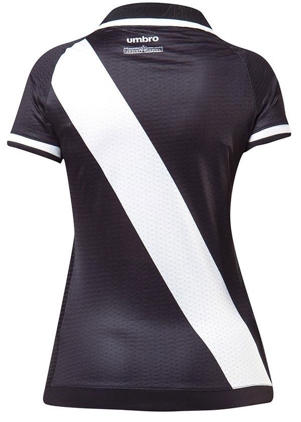 a6ebe79a1bf9e camisa de jogo 1 feminina vasco 2017 umbro preta original. Carregando zoom...  camisa feminina vasco. Carregando zoom.