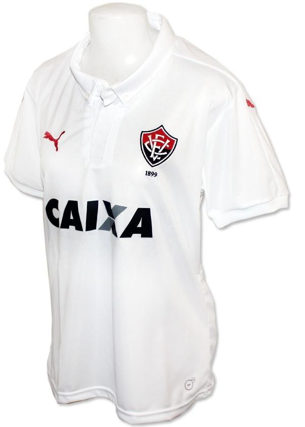 camisa feminina vitória puma 2016 branca original. Carregando zoom. c02a2341b693a