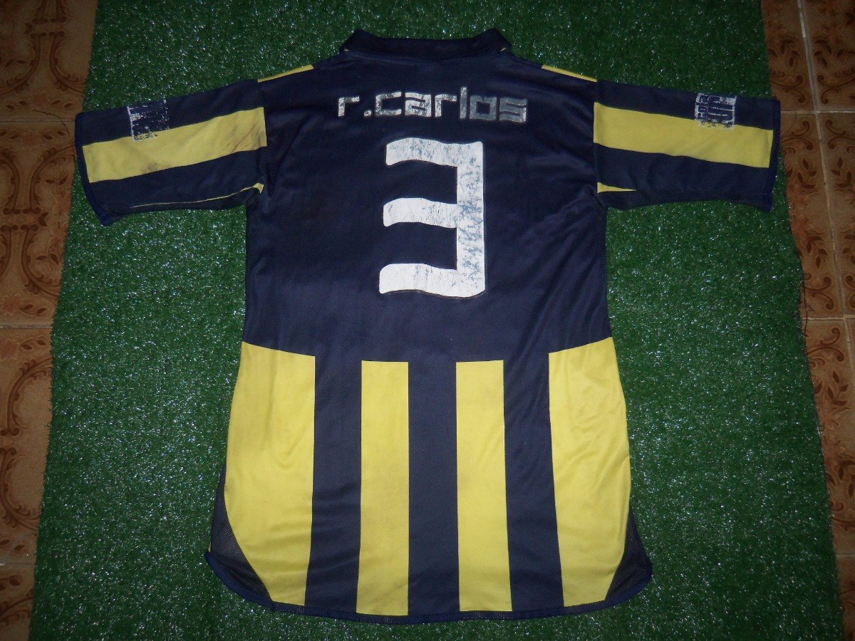 d73807495 Camisa Fenerbahce S. K. 2006-2007 adidas Home  3 R. Carlos - R  80 ...