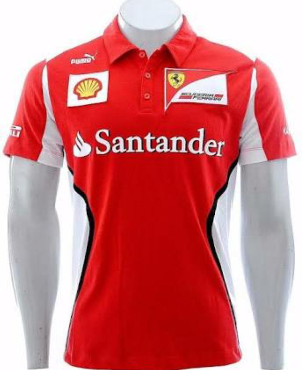 13bbf4d917157 camisa ferrari fórmula 1 vermelha masculina oferta. Carregando zoom.