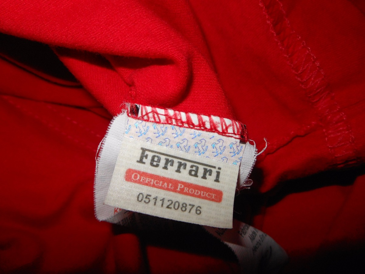 camisa ferrari original produto licenciado sem uso. Carregando zoom. 86108881f52