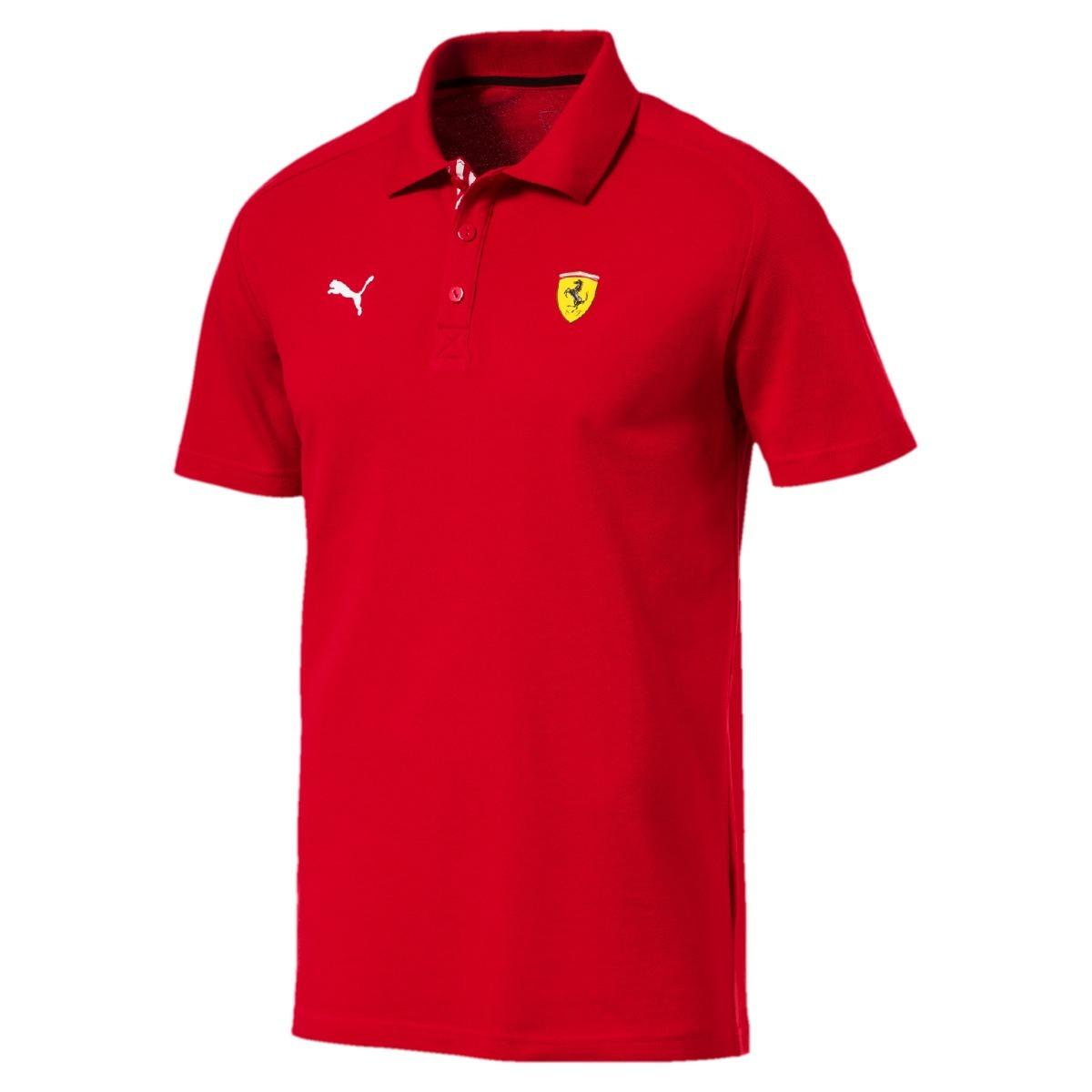 camisa ferrari puma sf polo rosso corsa - original. Carregando zoom. 29d840379e7