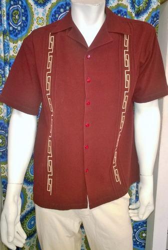 camisa filipina guayabera manta fina xxl xxxl