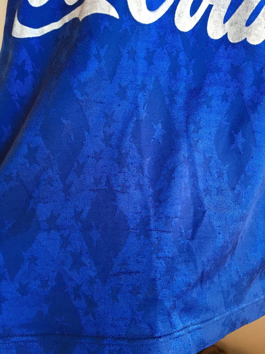 camisa finta cruzeiro 1992 - 1993 - 1994 azul original. Carregando zoom. 5e36988a2a5c9