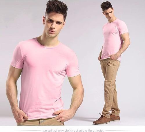 camisa fio 30.1 - camiseta básica lisa - masculina