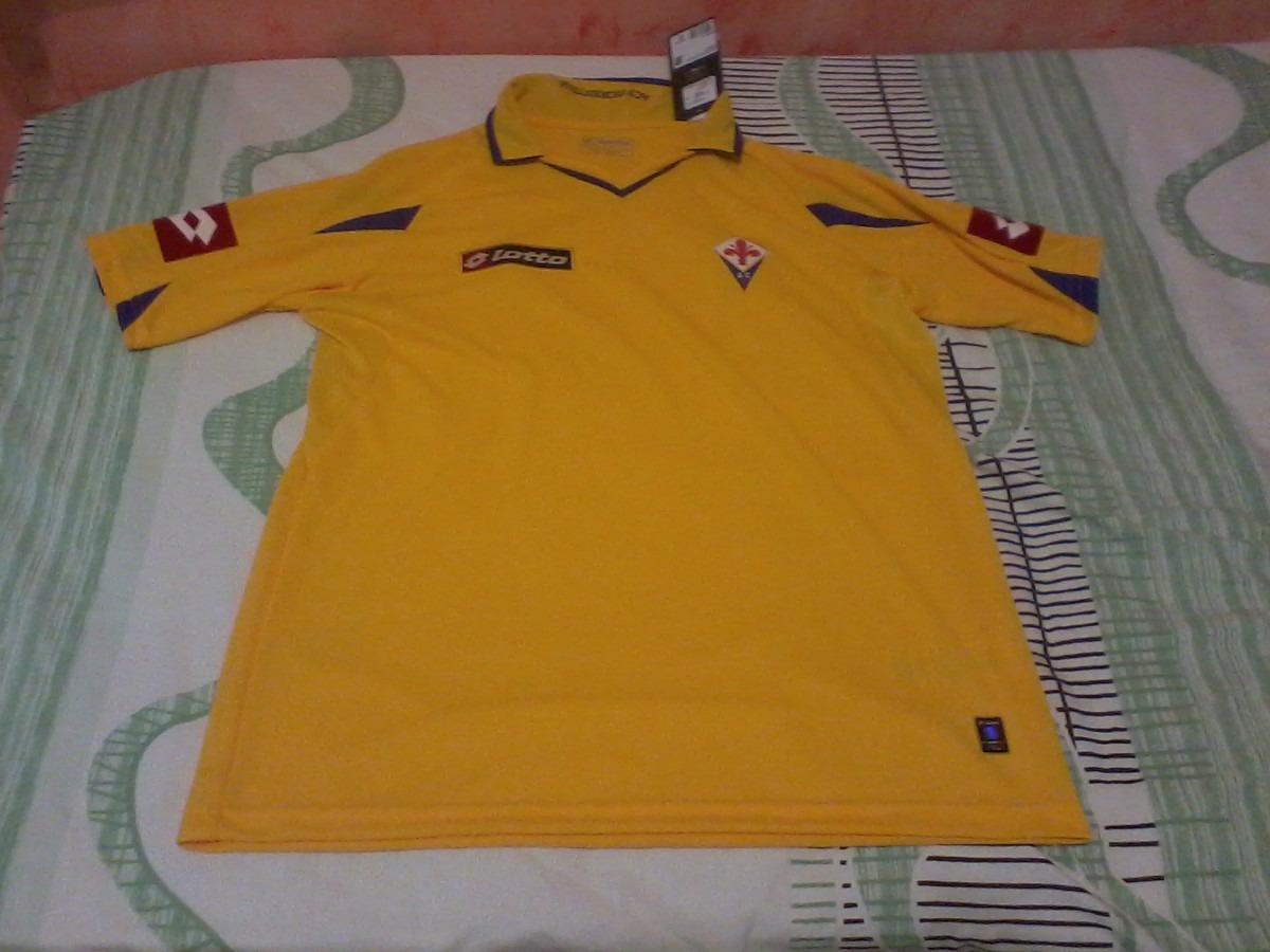 Camisa Fiorentina.. Away.. 2010 11.. Lotto.. Oficial.. Tam.g - R  90 ... 707d422460f3c