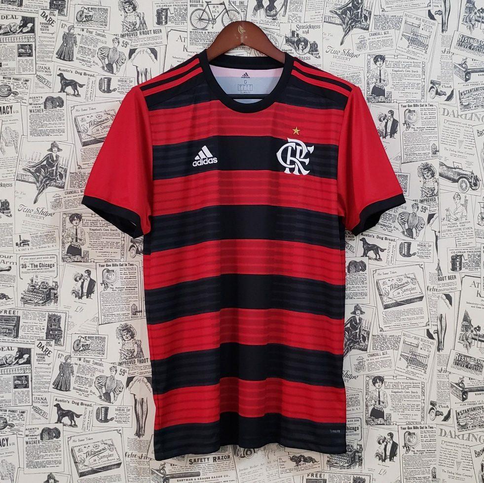 f3c0c4eff3 Camisa Flamengo 18 19 Paquetá Guerrero Diego - R  149