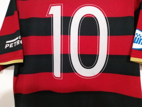 camisa flamengo 2008 /2009 nike #10 freddy krueger coleção