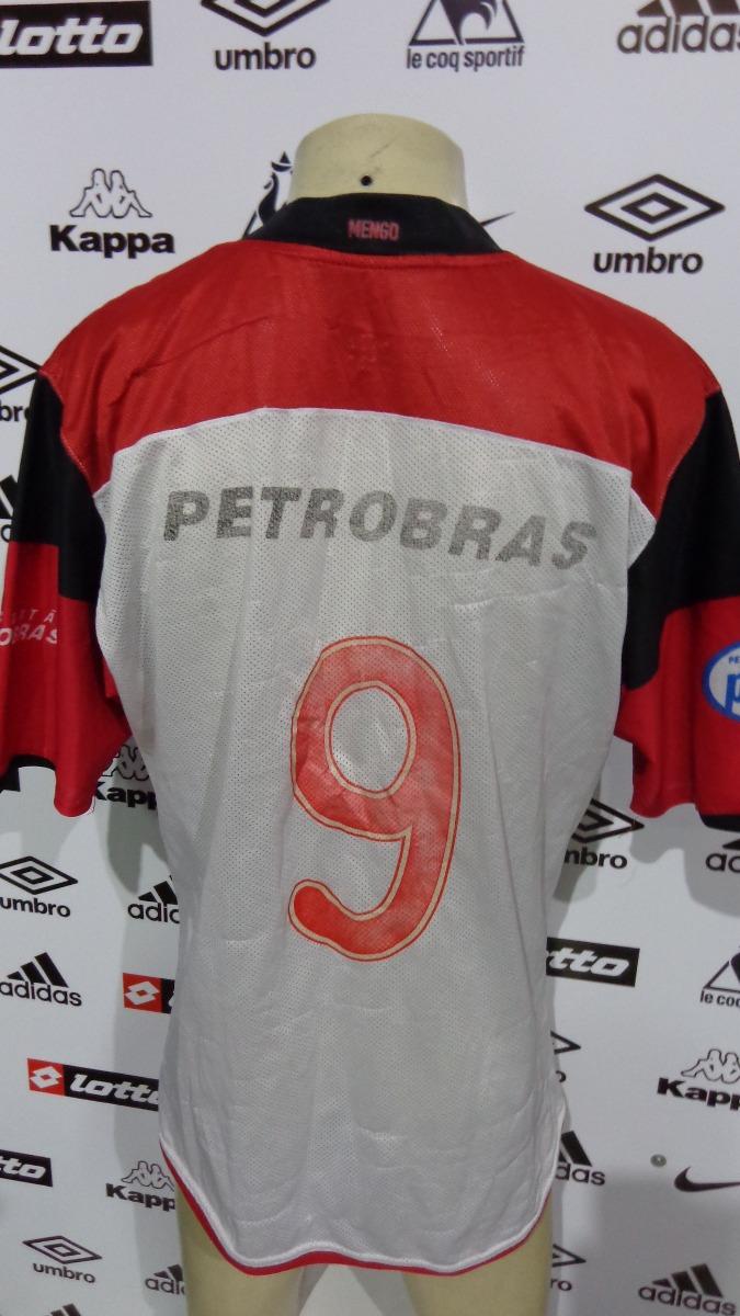 camisa flamengo 2009 nike   9 tm g. Carregando zoom. 581f86d7eff8b