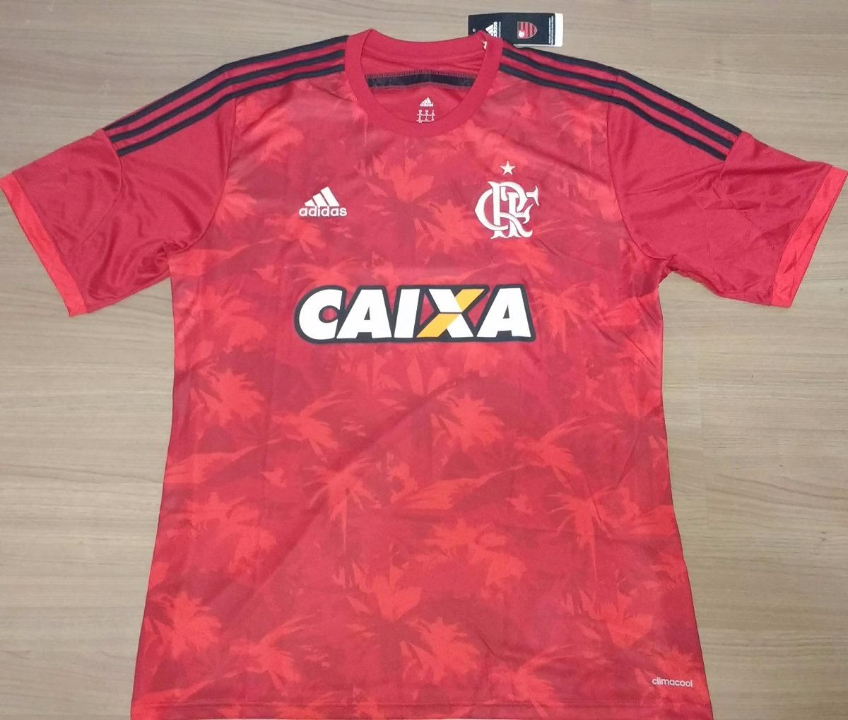 6af46ff79b Camisa Flamengo 2014 Fauna E Flora Original adidas - 18 - R  249
