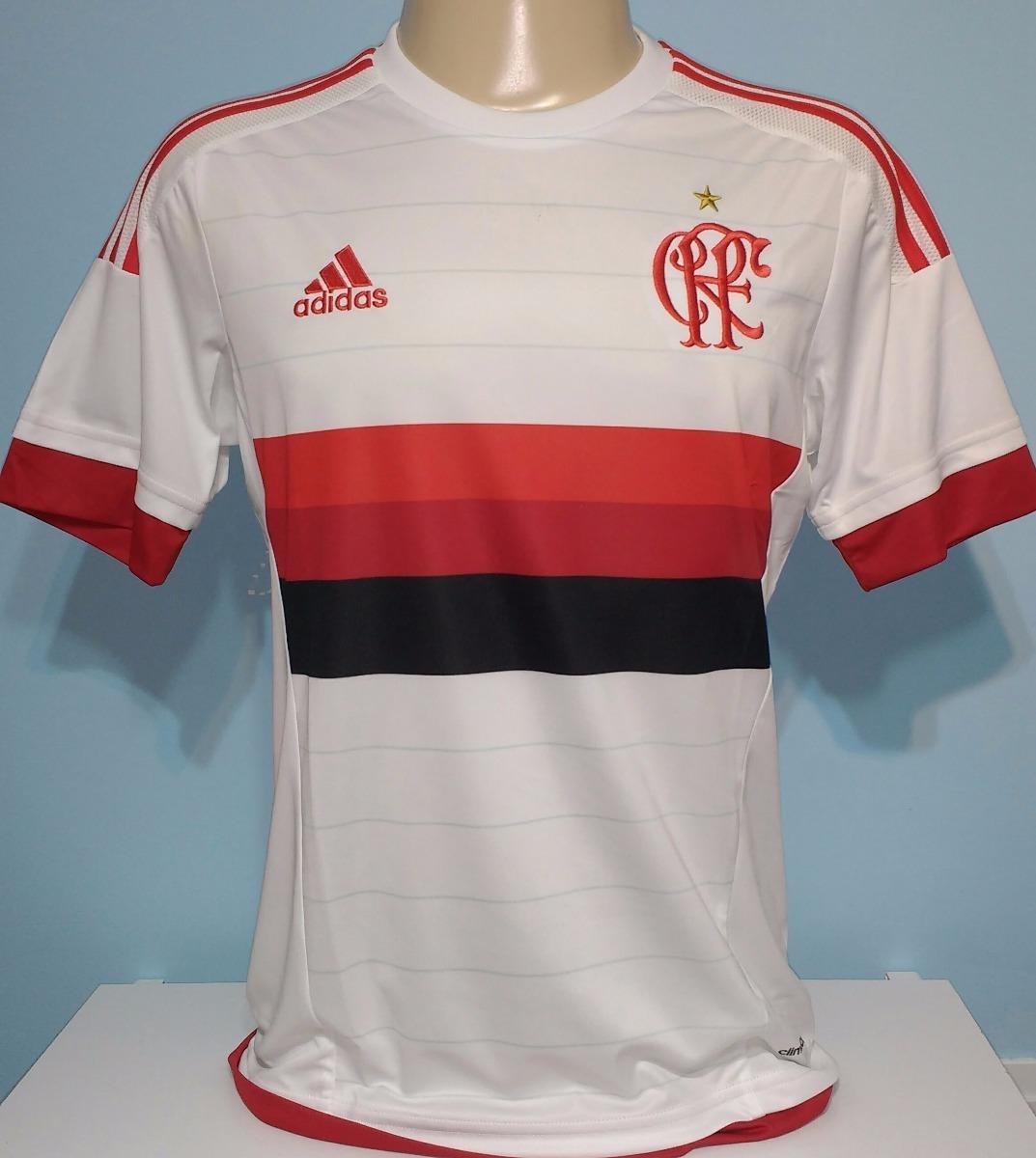 059d6a6eac Camisa Flamengo 2015 / 2016 Branca 100% Original adidas - 20 - R ...