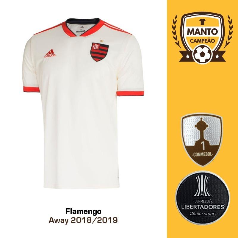 camisa flamengo 2018 2019 away uniforme 2 diego vitinho. Carregando zoom. 366e87adcc2e1