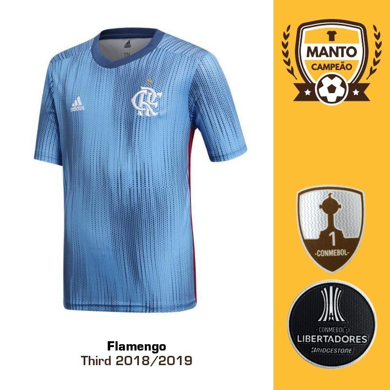 5991ca63833e9 camisa flamengo 2018 2019 third uniforme 3 diego vitinho. Carregando zoom.