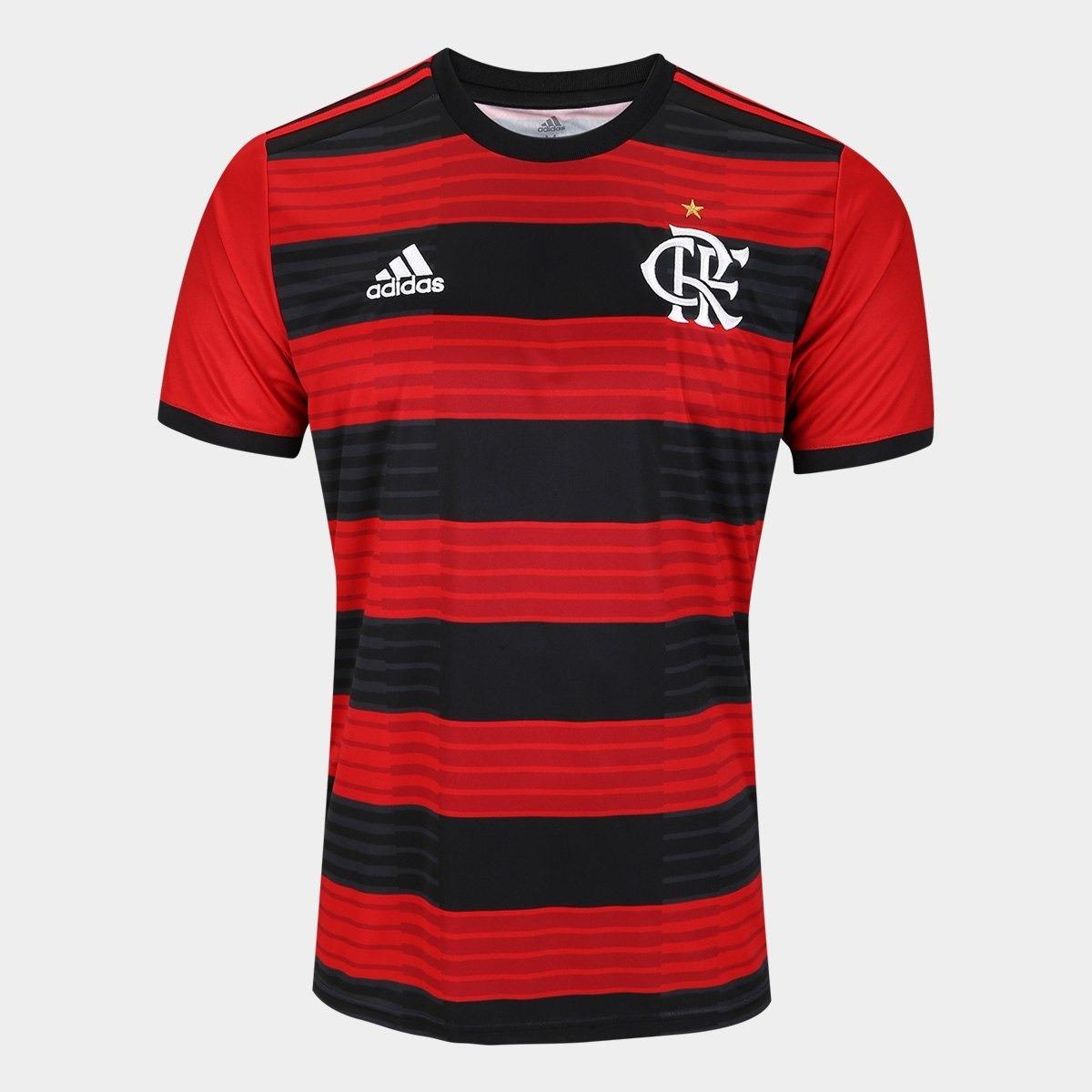 Camisa Flamengo 2019 100% Original Frete Gratis - R  139 545c95306514c
