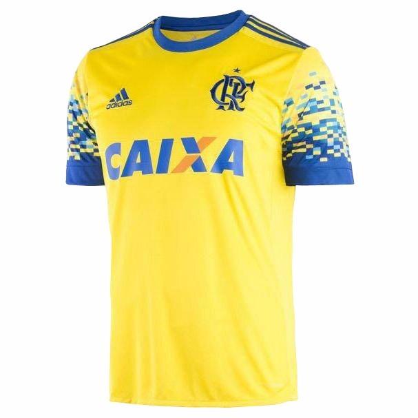 8214d05c924 Camisa Flamengo 3 17 18 S nº Torcedor adidas Masculina - R  149