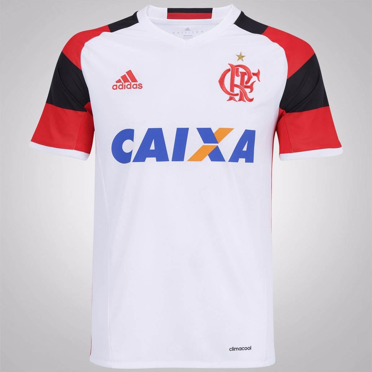 8948edccfe camisa flamengo adidas branca 2016 2017 original. Carregando zoom.