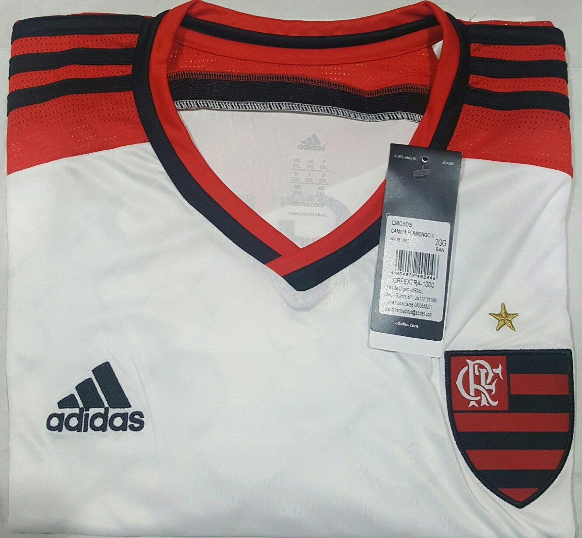 Camisa Flamengo adidas Gg   2gg Parcela S juros - R  160 8bc04a8d4fbba