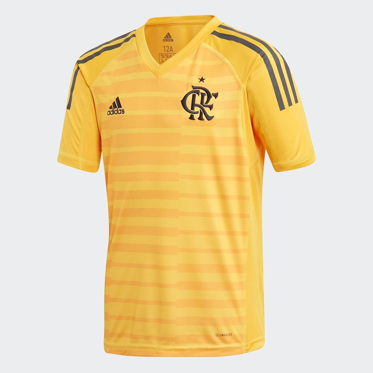 e85180d57f camisa flamengo adidas goleiro amarela 2018 2019 cf3465. Carregando zoom.