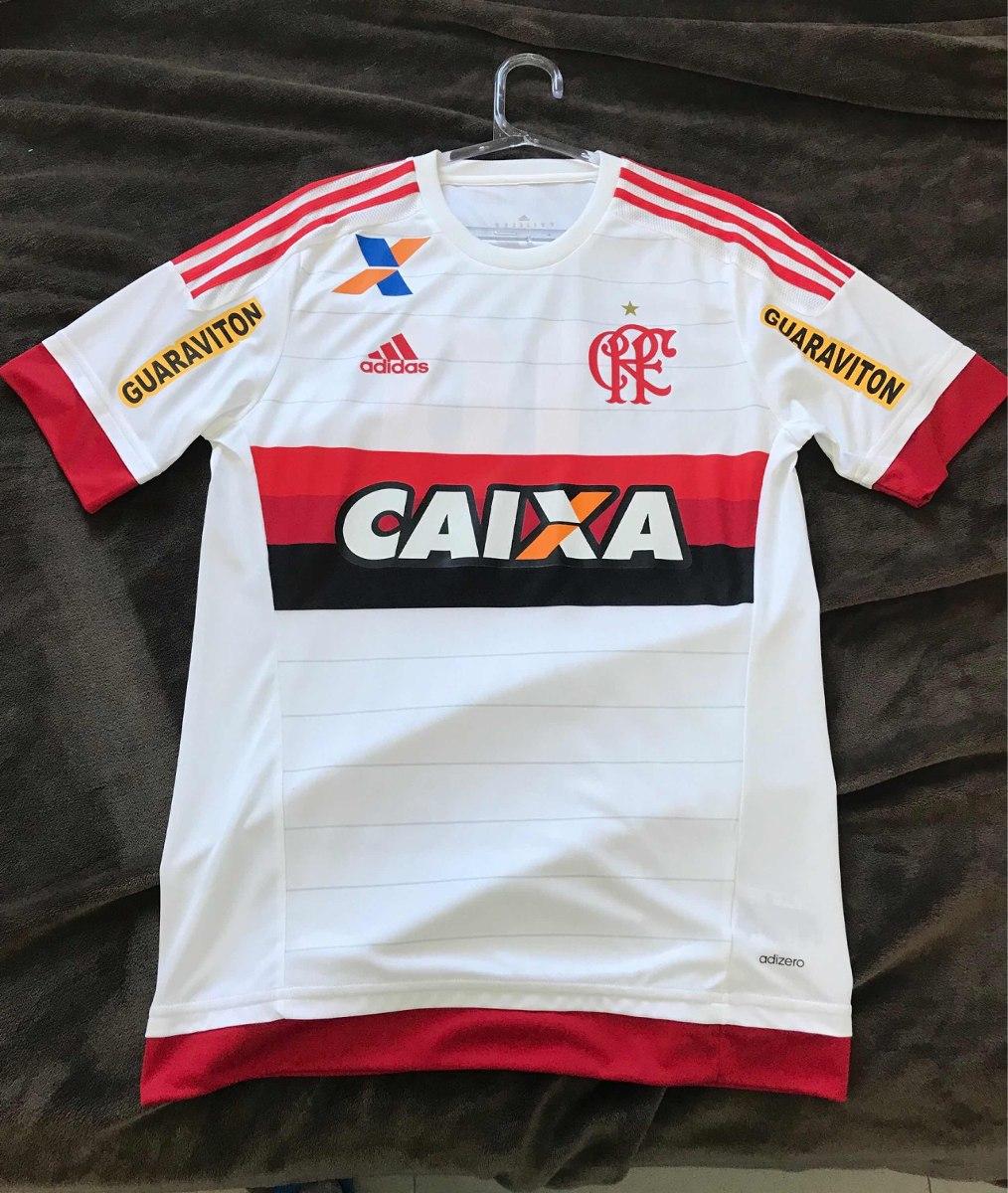 5aa87710e006e camisa flamengo adidas jogo branca 2016. Carregando zoom.