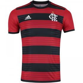 Camisa Flamengo adidas Uniforme 1 2018 2019 Frete Grátis f655edb83b11a