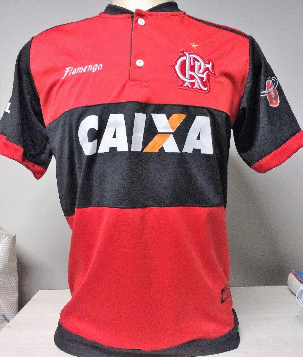 Camisa Flamengo Atacado Rubro Negro 2017 18 Kit 12 Peças - R  428 b90d01895e7e5