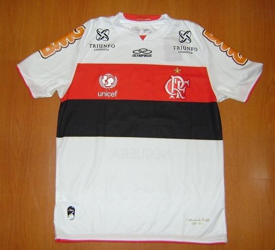 Camisa Flamengo Branca 2012   37 Adryan - R  250 6b29ad89fafbf