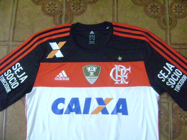 Camisa Flamengo Branca Usada Jogo 40 Amaral M - R  300 901d7b9305548