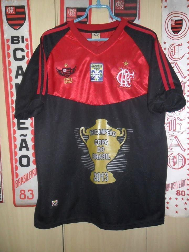 camisa flamengo comemorativa copa brasil 2013 (réplica ). Carregando zoom. 2a4b874da26d5