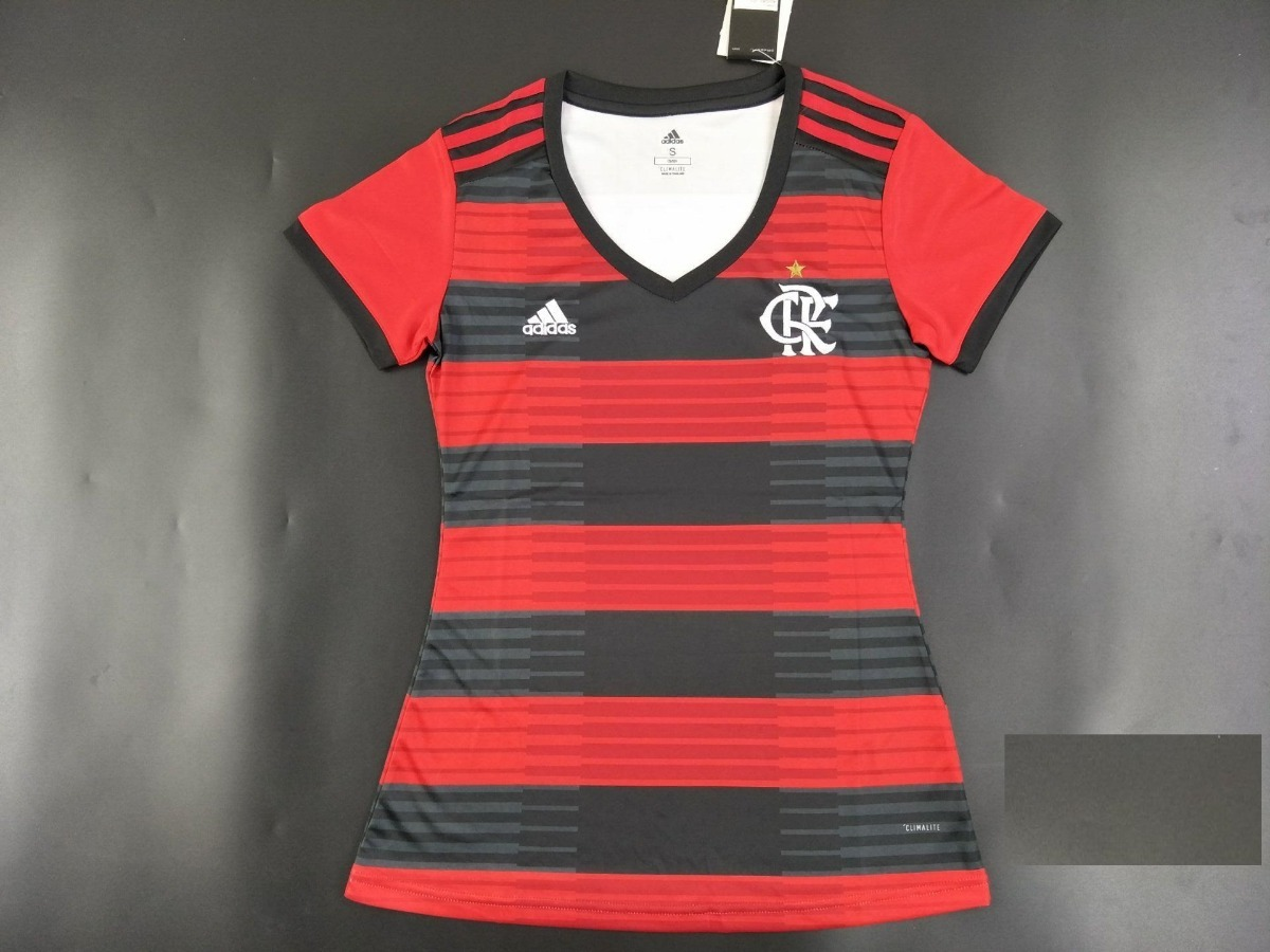 18820633ea camisa flamengo feminina 2018-2019 original - frete gratis. Carregando zoom.