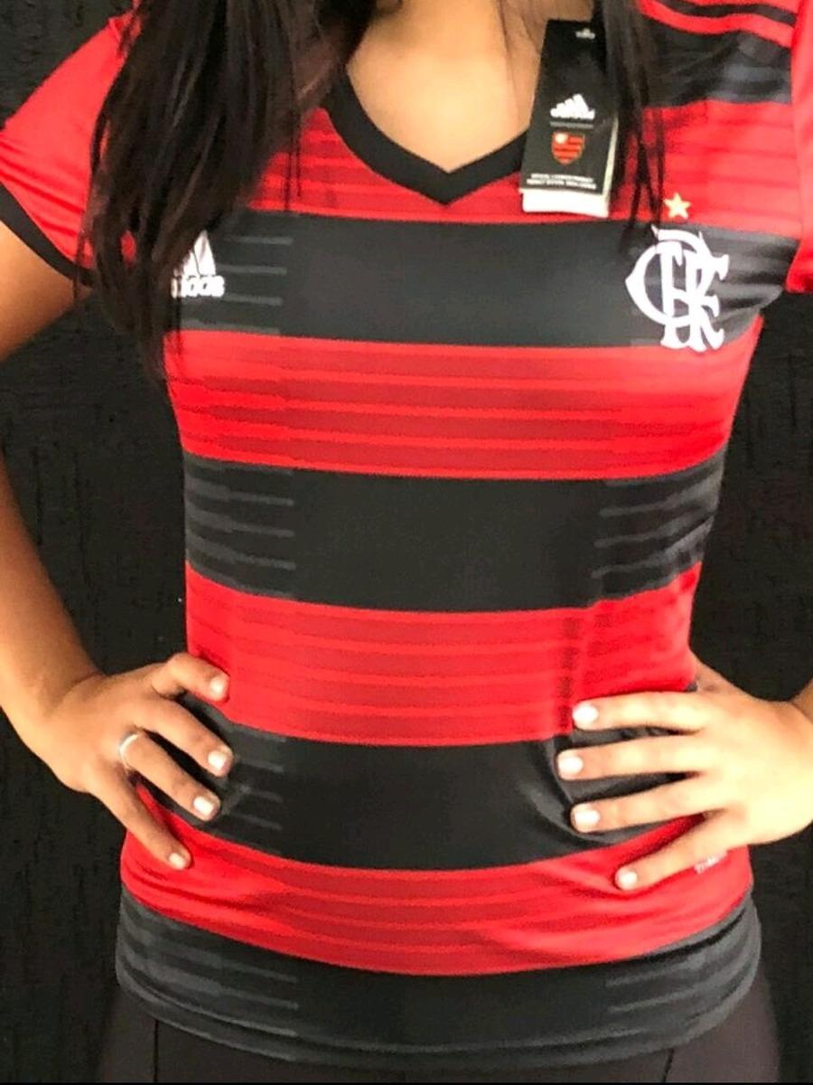 c4ad825c3f Camisa Flamengo Feminina - 2018/2019 - R$ 150,00 em Mercado Livre